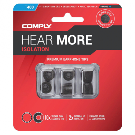 Comply Isolation T-400 / rozmiar M / 3 pary