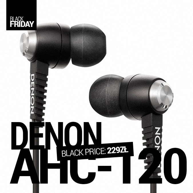 Denon AH-C120 - Black Friday