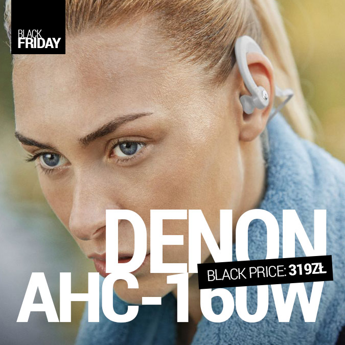 Denon AH-C160W - Black Friday