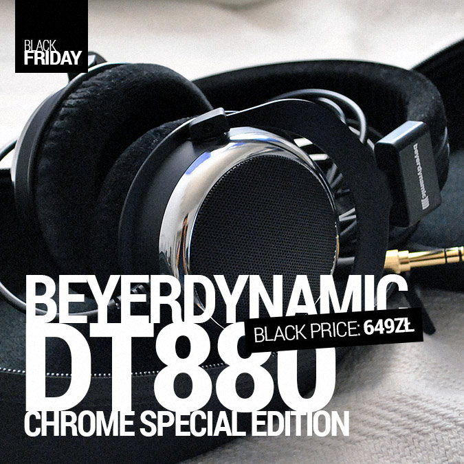 Beyerdynamic DT880 Chrome Special Edition - Black Friday