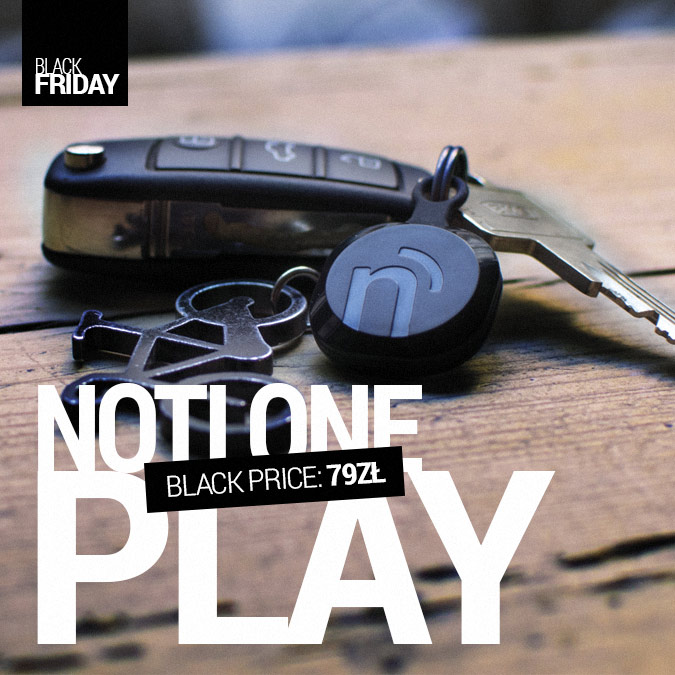 NotiOne Play - Black Friday